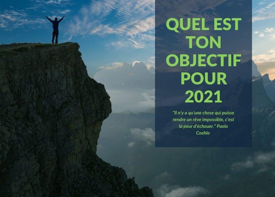 Objectifs 2021